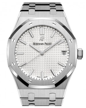 Audemars Piguet Royal Oak Selfwinding Stainless Steel White Index Dial 41mm Steel Bracelet 15500ST.OO.1220ST.04 - BRAND NEW