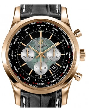 BREITLING RB0510U4|BB63|760P|R20BA.1 TRANSOCEAN CHRONOGRAPH UNITIME 46mm RED GOLD BRAND NEW