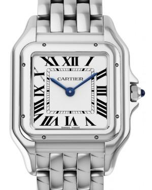 Cartier Panthere de Cartier Women's Watch Medium Quartz Stainless Steel Silver Dial Steel Bracelet WSPN0007 - BRAND NEW