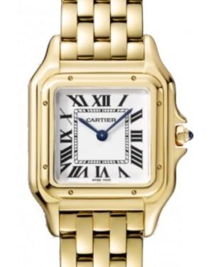 Cartier Panthère de Cartier Women's Watch Medium Quartz Yellow Gold Silver Dial Yellow Gold Bracelet WGPN0009 - BRAND NEW