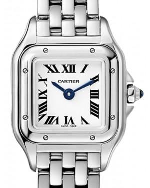 Cartier Panthere de Cartier Women's Watch Mini Quartz Stainless Steel Silver Dial Steel Bracelet WSPN0019 - BRAND NEW