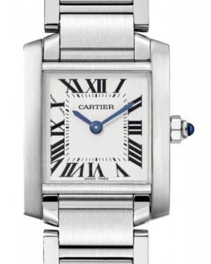 Cartier Tank Francaise Women's Watch Small Quartz Stainless Steel Silver Dial Stainless Steel Bracelet W51008Q3 - BRAND NEW