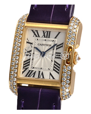 CARTIER WT100014 TANK ANGLAISE 18K YELLOW GOLD, DIAMONDS BRAND NEW