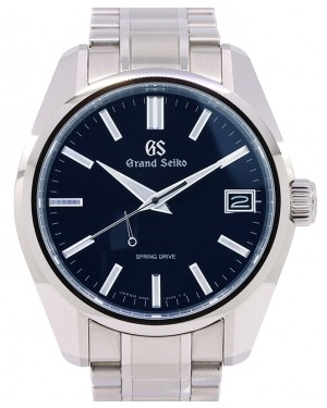 Grand Seiko Heritage Collection Stainless Steel Blue 40mm Dial Bracelet SBGA375 - PRE OWNED