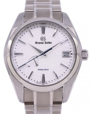 Grand Seiko Heritage Collection Stainless Steel White 41mm Dial Bracelet SBGA211 - PRE OWNED