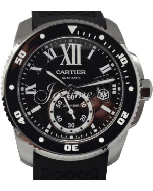 CARTIER  W7100056 CALIBRE DE CARTIER DIVER 42mm Stainless Steel BRAND NEW