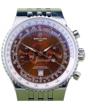 Breitling Navitimer Montbrilliant A23340 Men's 47mm Copper Stainless Steel Chronograph BRAND NEW