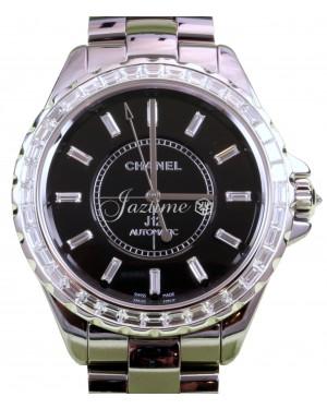 Chanel J12 H3155 Gray Titanium Ceramic Diamond 41mm Automatic - BRAND NEW