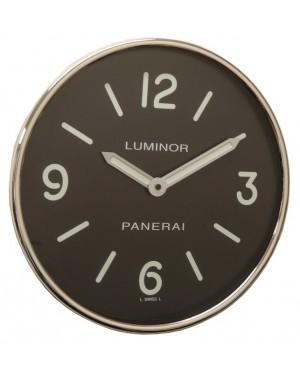 Panerai Luminor Wall Clock Black Arabic / Index Dial