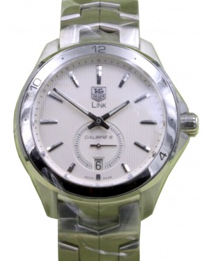 TAG Heuer Link WAT2111.BA0950 40mm Silver Index Stainless Steel BRAND NEW