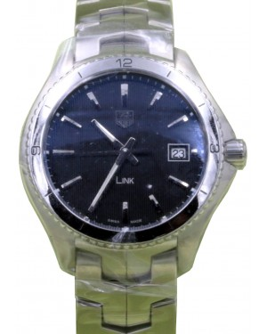 TAG Heuer Link WAT1111.BA0950 40mm Silver Index Stainless Steel BRAND NEW