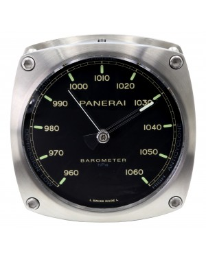 Panerai PAM 582 Barometer Stainless Steel Wall Clock BRAND NEW