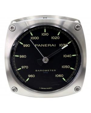 Panerai PAM 582 Barometer Stainless Steel Wall Clock BRAND NEW