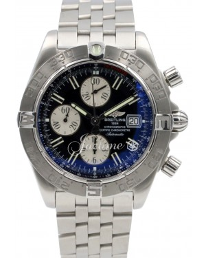 Breitling Galactic Chronograph II A13364 Men's Stainless Steel Date