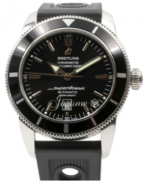 Breitling Superocean Heritage 46 A1732024/B868-201S Black Stainless Steel Rubber Brand New