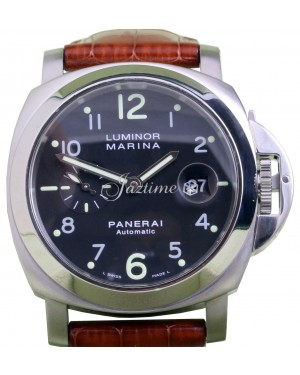 Panerai PAM 164 Luminor Marina Men's 44mm Stainless Steel Date Automatic BRAND NEW