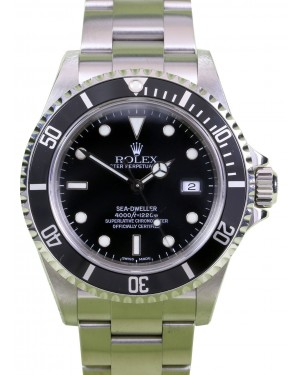 Rolex Sea-Dweller 16600 40mm Stainless Steel Oyster Diver BOX PAPERS