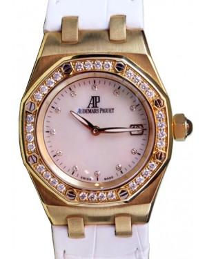 Audemars Piguet Royal Oak 33mm Ladies 67601OR.ZZ.D010CA.01 Diamond 18k Rose Gold BRAND NEW