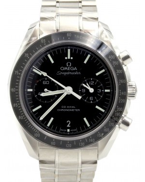 Omega Speedmaster 311.30.44.51.01.002 Moonwatch Co-Axial Black Index Stainless Steel Chronograph 44.25mm BRAND NEW