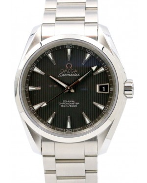 Omega Seamaster Aqua Terra 231.10.39.21.06.001 Grey Index 150 M Co-Axial Stainless Steel 38.5mm - BRAND NEW
