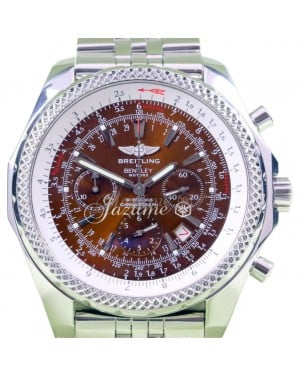 Breitling Bentley Motors A25362 Copper 48mm Stainless Steel Chronograph Automatic