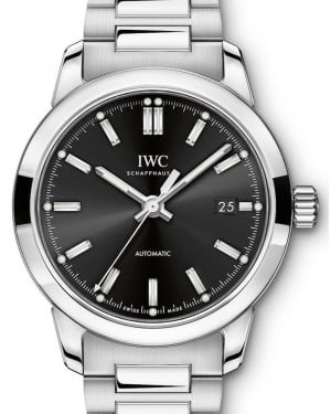 IWC Schaffhausen Ingenieur Automatic IW357002 Black Index Stainless Steel 40mm BRAND NEW