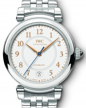IWC Schaffhausen Da Vinci Automatic 36 IW458307 Silver Arabic Stainless Steel 36mm BRAND NEW