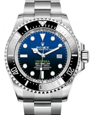 "Rolex Deepsea D-Blue ""James Cameron"" Steel Black Ceramic Bezel 126660  - NEW RELEASE 2019 - BRAND NEW"
