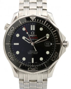 Omega 212.30.41.20.01.003 Seamaster Diver 300M Co-Axial 41mm Black Ceramic Stainless Steel - PRE-OWNED