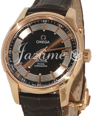 OMEGA 431.63.41.21.13.001 Hour Vision 41 mm Red Gold - BRAND NEW