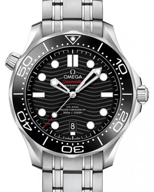 Omega Seamaster Diver 300M Co-Axial Master Chronometer 210.30.42.20.01.001 Black Stainless Steel 42mm - BRAND NEW