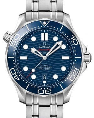 Omega Seamaster Diver 300M Co-Axial Master Chronometer 210.30.42.20.03.001 Blue Stainless Steel 42mm - BRAND NEW