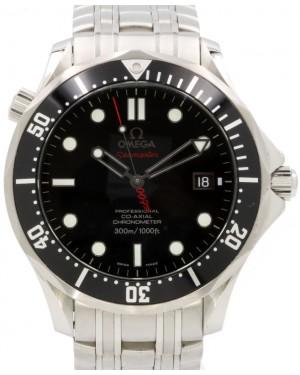 """Omega Seamaster 300M Chronometer """"James Bond 007"""" Stainless Steel Black Dial & Bezel 212.30.41.20.01.001 - PRE-OWNED"""