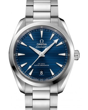 Omega Seamaster Aqua Terra 150M Co‑Axial Master Chronometer Stainless Steel Blue Dial & Steel Bracelet 38mm 220.10.38.20.03.001 - BRAND NEW