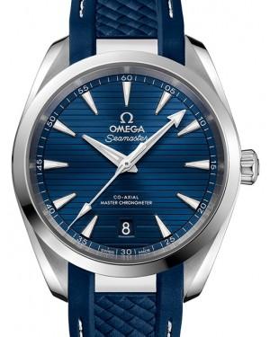 Omega Seamaster Aqua Terra 150M Stainless Steel Blue Dial & Rubber Strap 38mm 220.12.38.20.03.001 - BRAND NEW