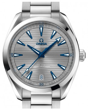 Omega Seamaster Aqua Terra 150M Stainless Steel Grey Dial & Steel Bracelet 41mm 220.10.41.21.06.001 - BRAND NEW