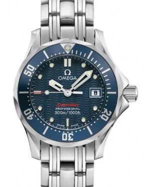 Omega Seamaster Diver 300M Quartz Stainless Steel Blue Dial & Bezel Steel Bracelet 28mm 2224.80.00 - BRAND NEW