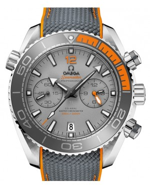 Omega Seamaster Planet Ocean 600M Chronograph Titanium Grey Dial Ceramic Bezel & Rubber Strap 45.5 mm 215.92.46.51.99.001 - BRAND NEW