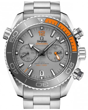 Omega Seamaster Planet Ocean 600M Chronograph Titanium Grey Dial Ceramic Bezel & Titanium Bracelet 45.5 mm 215.90.46.51.99.001 - BRAND NEW
