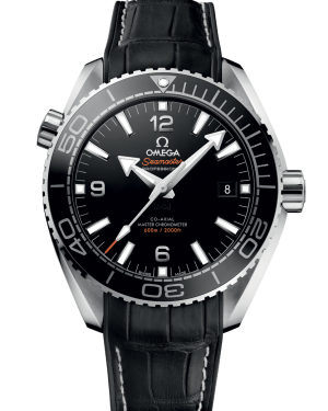 Omega Seamaster Planet Ocean 600M Co-Axial Master 43.5mm Chronometer Black Dial & Bezel Leather Strap 215.33.44.21.01.001  - BRAND NEW