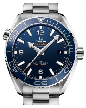 Omega Seamaster Planet Ocean 600M Stainless Steel Blue Dial Ceramic Bezel & Steel Bracelet 43.5 mm 215.30.44.21.03.001 - BRAND NEW