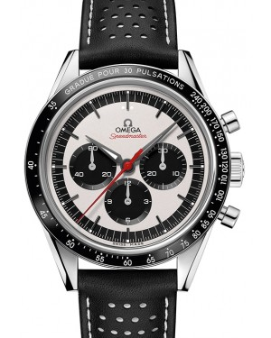 Omega Speedmaster Moonwatch Chronograph Stainless Steel Silver Dial & Ceramic Bezel Leather Strap 39.7mm 311.311.32.40.30.02.001 - BRAND NEW
