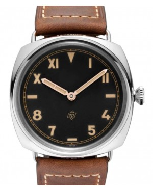 Panerai Radiomir California Stainless Steel 47mm Black Dial Leather Strap PAM00424 - BRAND NEW