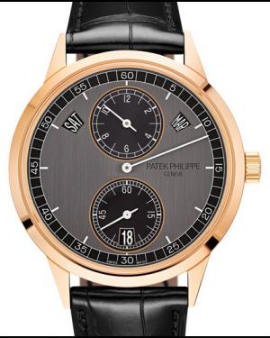 Patek Philippe Complications Annual Calendar Regulator Display Rose Gold 40.5mm Graphite Ebony Dial 5235/50R-001 - BRAND NEW