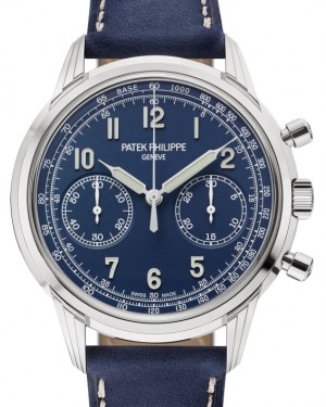 Patek Philippe Complications Chronograph White Gold 41 mm Blue Dial Manual-Wind 5172G-001 - BRAND NEW