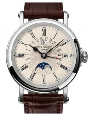 Patek Philippe Grand Complications Perpetual Calendar Retrograde Date White Gold 38mm Opaline Dial 5159G-001 - BRAND NEW