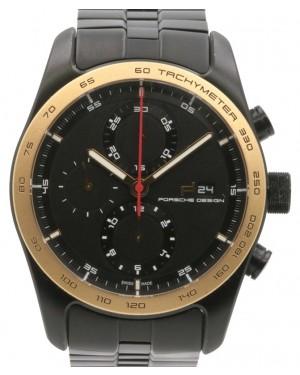 Porsche Design Chronotimer Series 1 Black Titanium Carbide Coating & Rose Gold Bezel - PRE-OWNED