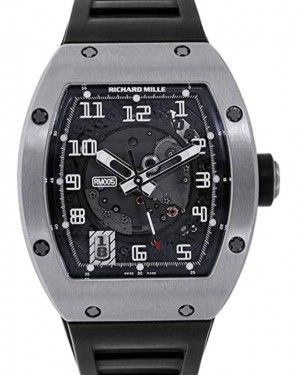 Richard Mille Automatic White Gold Skeleton Dial RM010 - PRE-OWNED
