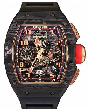 """Richard Mille """"Romain Grosjean"""" Lotus F1 Rose Gold Skeleton Dial Carbon Bezel RM011 - BRAND NEW"""