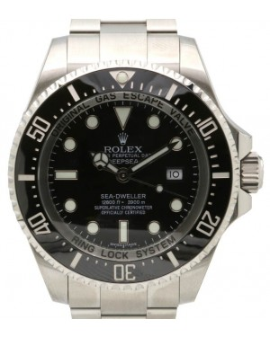 Rolex Deepsea 116660 Ceramic Stainless Steel 44mm Black BRAND NEW